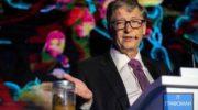 Бил Гейтс размахивал банкой какашек на презентации