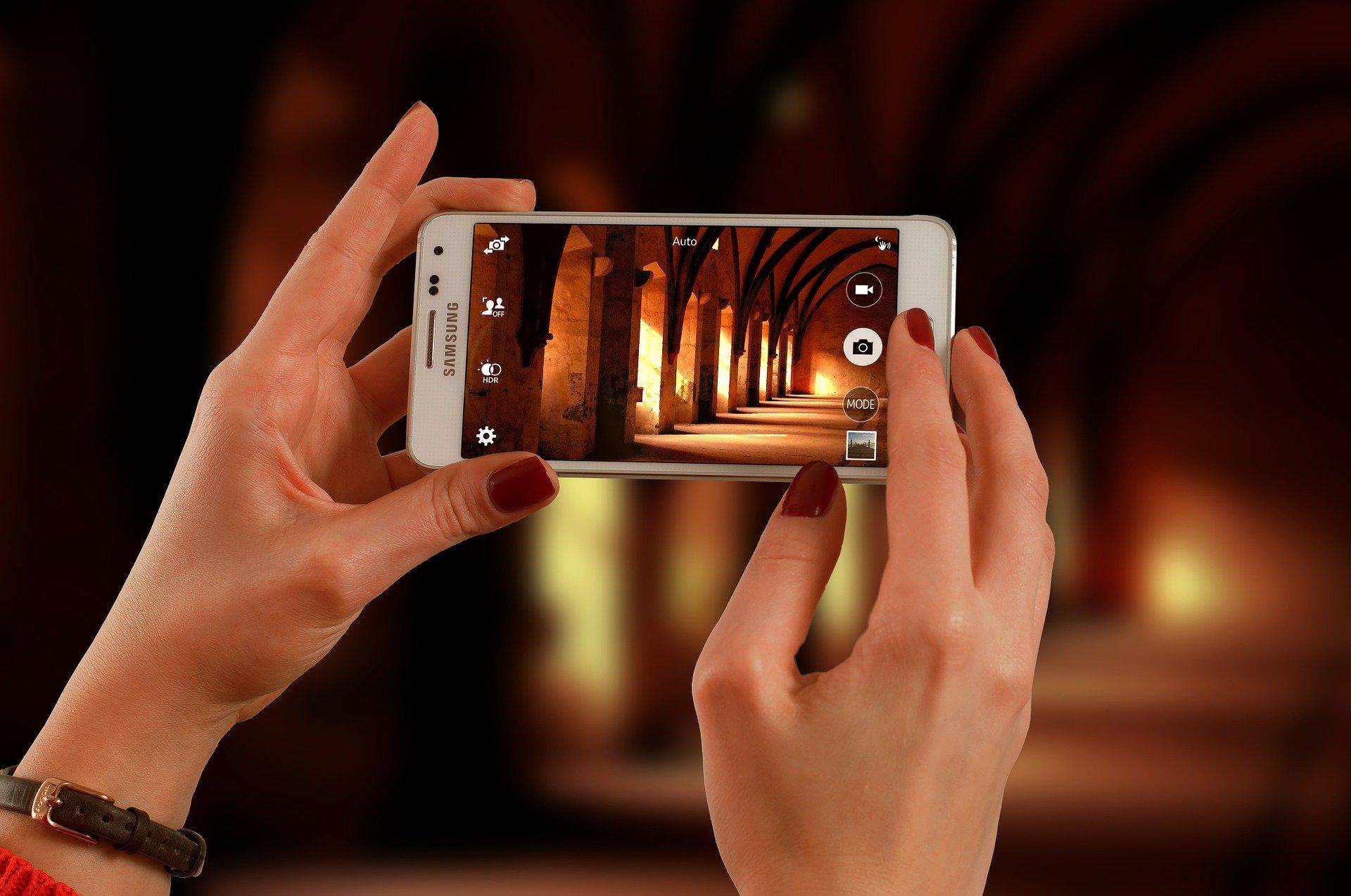 Приложение для фотографирования на смартфон
